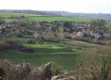 Culverhay Castle, Englishcombe - 1006992   Historic England