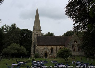 CHURCH OF THE HOLY INNOCENTS, Waltham Abbey - 1124126