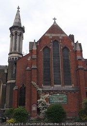 Church of St James the Great , Hackney - 1226893 | Historic