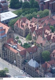MANCHESTER UNIVERSITY RUTHERFORD BUILDING AND HOPKINSON