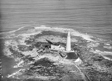 St Mary's Island Lighthouse, Keepers' Cottages and Compound