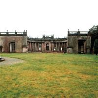 Remains of Trentham Hall, the Grand Entrance and Orangery, Park Drive, Trentham Gardens, Swynnerton - Stafford