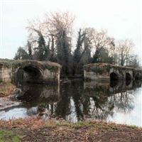 Remains of Old Castle Bridge, Mill Street, Warwick - Warwick