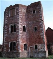 Remains of corner tower to former Archbishops Palace, Otford - Sevenoaks