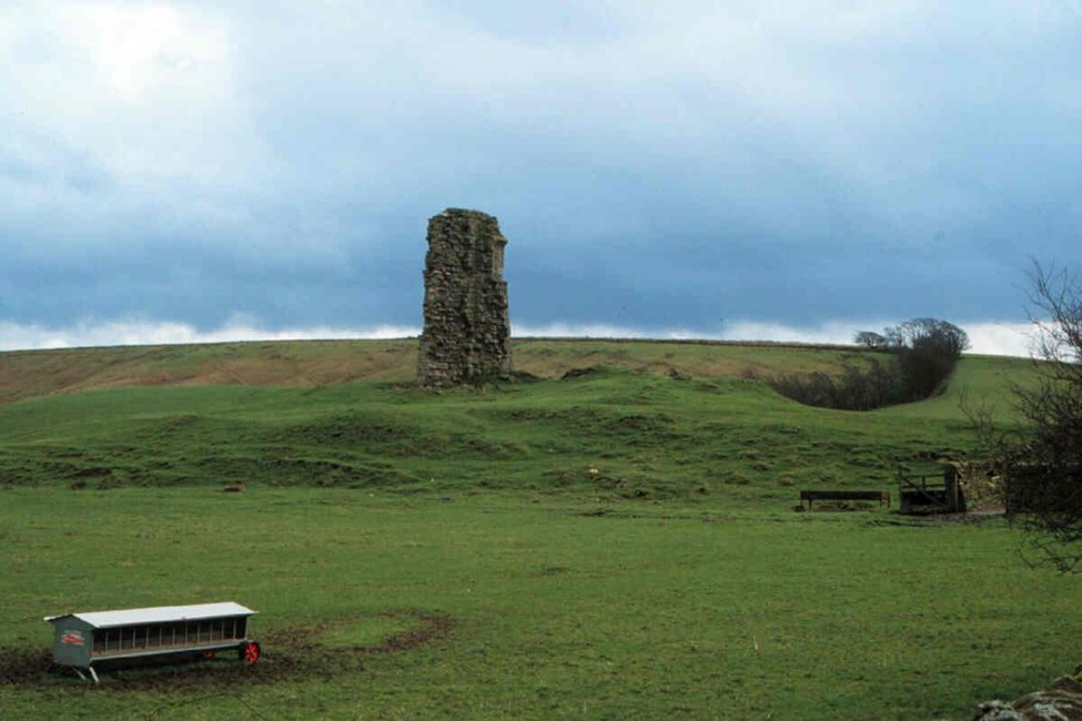 Enclosure castle known as Triermain Castle, Waterhead - Carlisle