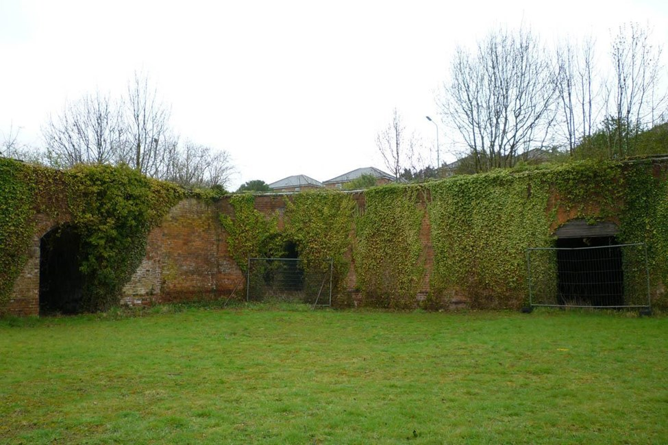 Outer wall and north west bastion, Weedon Bec - Daventry