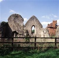 Ruins of Church of St Etheldreda, Chesfield, Graveley - North Hertfordshire