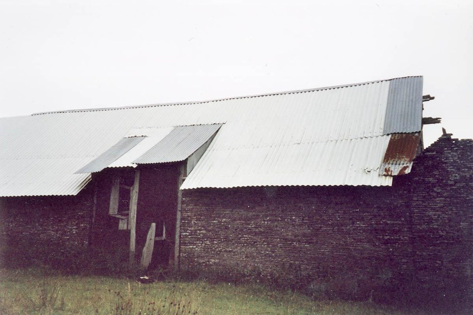 Barn and attached cowhouse built onto Glibes Farmhouse, Michaelchurch Escley - Herefordshire, County of (UA)