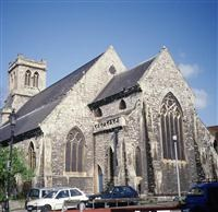 Church of the Holy Trinity with St Barnabas, Clarence Way NW1 - Camden