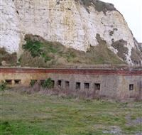 Newhaven Fort; Caponier, Fort Road, Newhaven - Lewes