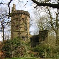 Prospect Tower and attached wing, Knypersley, Biddulph - Staffordshire Moorlands
