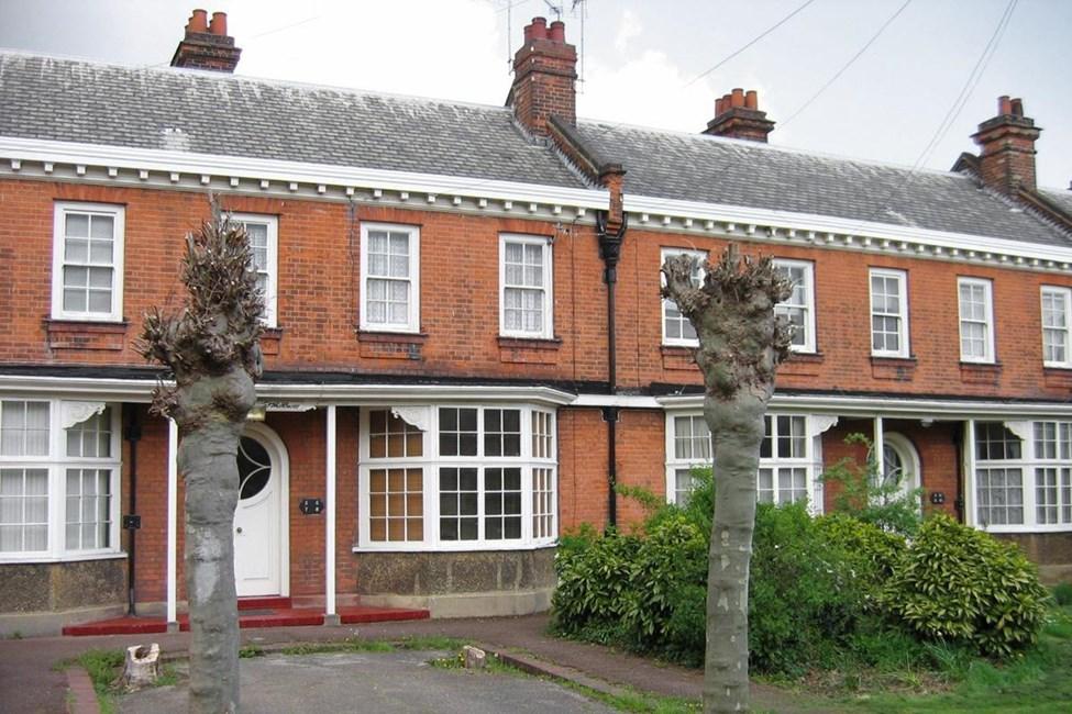 Porters and Walters Almshouses, St Leonard's Almshouses, Nightingale Road, Wood Green N22 - Haringey