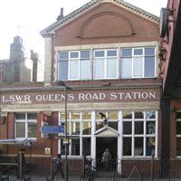 Queenstown Road Station, Queenstown Road SW8 - Wandsworth