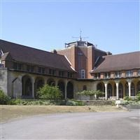 The chapel at the former King Edward VII Hospital, Easebourne, Chichester - South Downs (NP)