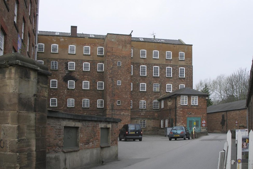 Darley Abbey Mills (South Complex) Long Mill, East Mill and West Mill, Old Lane, Darley Abbey, Derby - Derby, City of (UA)