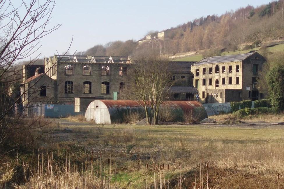 Mill Dam at Westwood Mills, Lowestwood Lane, Linthwaite, Huddersfield - Kirklees