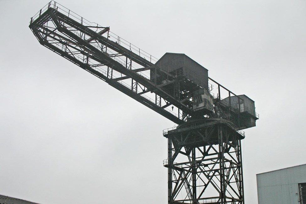 Hammerhead Crane, Thetis Road, West Cowes, Cowes - Isle of Wight (UA)