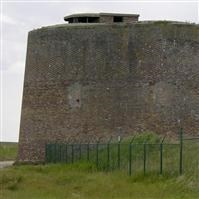 "Martello Tower ""D"", 450 metres SSW of Clubhouse, Clacton Golf Course, Clacton on Sea - Tendring"