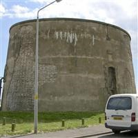 "Martello Tower ""E"", 300 metres south west of junction of Marine Parade West and Wash Lane, Clacton on Sea - Tendring"
