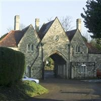 Gatehouse at Hillingdon-Uxbridge Cemetery, Uxbridge Road - Hillingdon