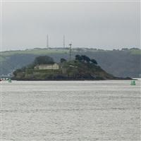 The coastal fortifications of Drake's Island, Plymouth - Plymouth, City of (UA)