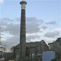 Chimney to Beckton Sewage Works, Jenkins Lane, Beckton E6 - Newham