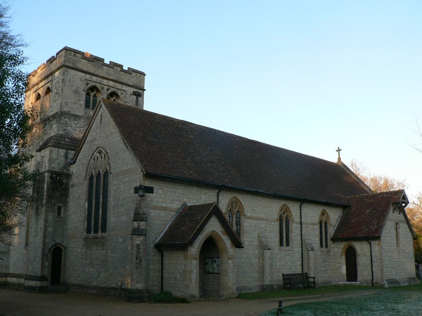 Church of St Katherine, Exbury, Exbury and Lepe, New Forest - New Forest