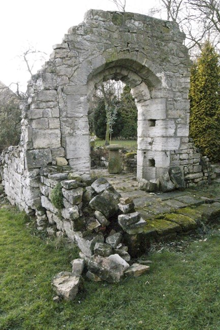 Moat Hall ruins, Braithwell - Doncaster