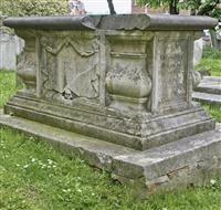 Monument to George Abell, St Leonard's churchyard, Streatham High Road, Streatham SW16 - Lambeth