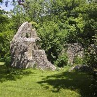 Ruins of St Nicholas Chapel, Westbury, East Meon, East Hampshire - South Downs (NP)