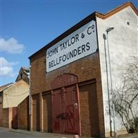 Taylor's Bell Foundry (on east side of Cobden Street), Freehold Street, Loughborough - Charnwood