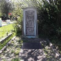 Monument to Rebekah Horniman, Camberwell Old Cemetery, Forest Hill Road, Forest Hill SE23 - Southwark
