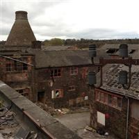 Bottle oven and factory, Price and Kensington Teapot Works, Newcastle Street, Longport - Stoke-on-Trent, City of (UA)