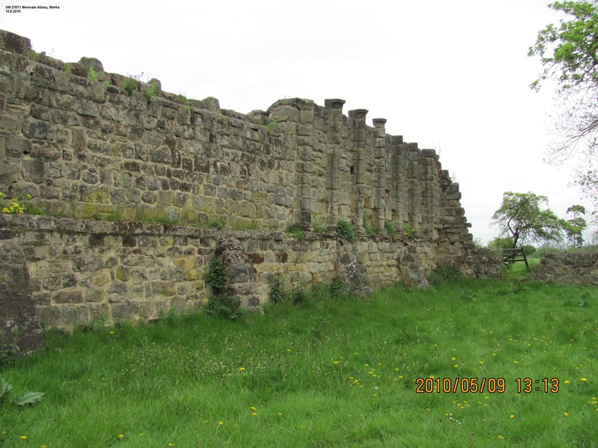 Merevale Abbey, a Cistercian monastery, associated water control features and industrial remains, Merevale - North Warwickshire