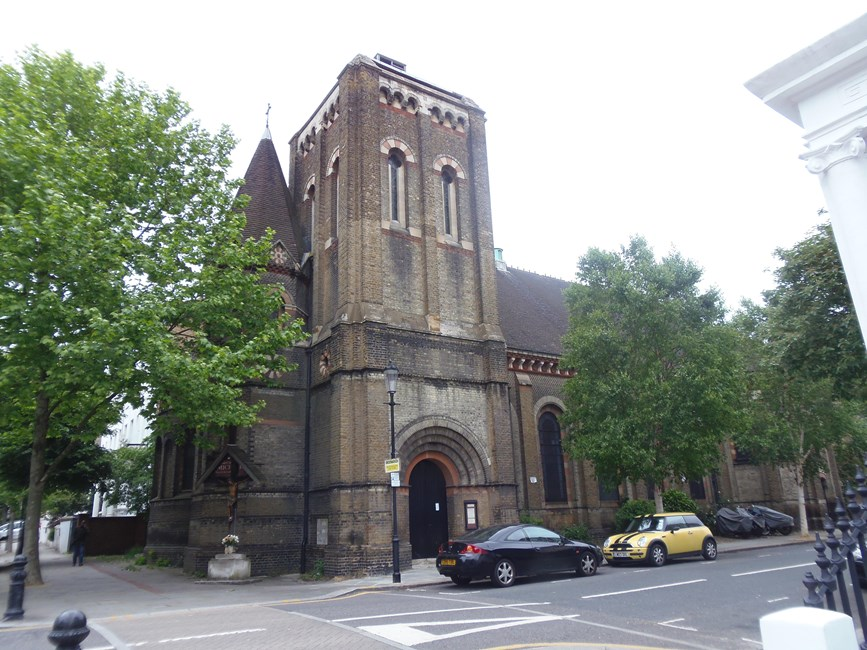 Church of St Michael and All Angels, Ladbroke Grove, Kensington W10 - Kensington and Chelsea