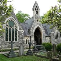 Two chapels at South Ealing Cemetery, South Ealing Road  W5 - Ealing