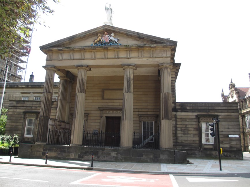 Crown Court House, Wood Street - Wakefield