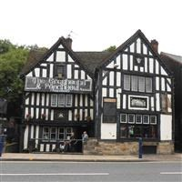 The Greyhound and Punchbowl Inn (formerly Stoke Heath Manor House), High Street, Bilston - Wolverhampton, City of