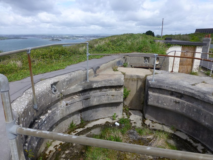 Watch House battery and ditch, Wembury - South Hams