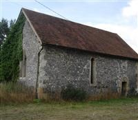 Former Chapel of St Leonard, east of Manor Farmhouse, Brimpton Road, Brimpton - West Berkshire (UA)