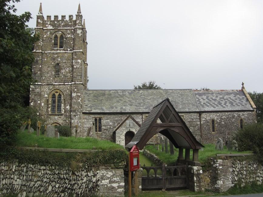 Church of St Brendan, Church Hill, Brendon, North Devon - Exmoor (NP)