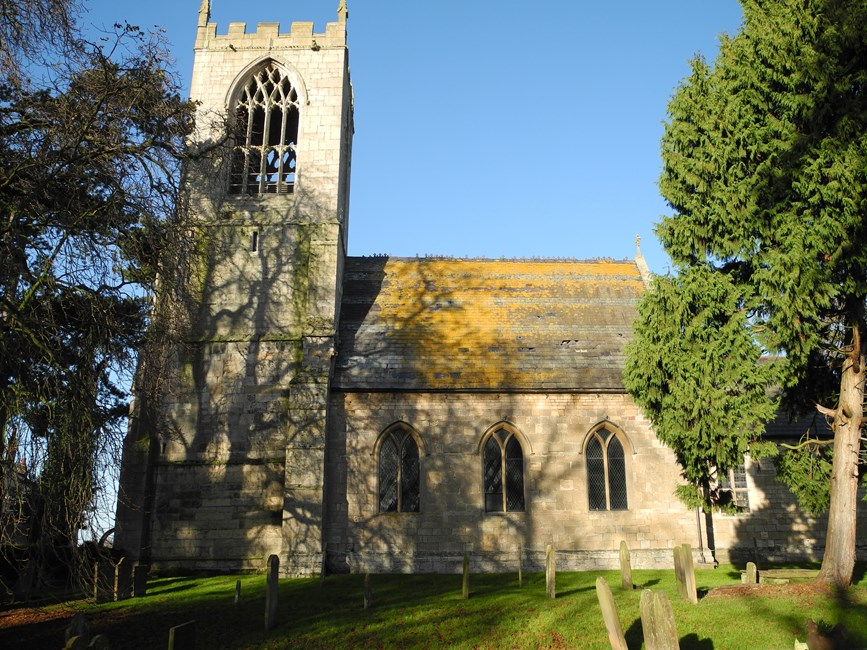 Church of St Oswald, Main Street, Dunham-on-Trent - Bassetlaw