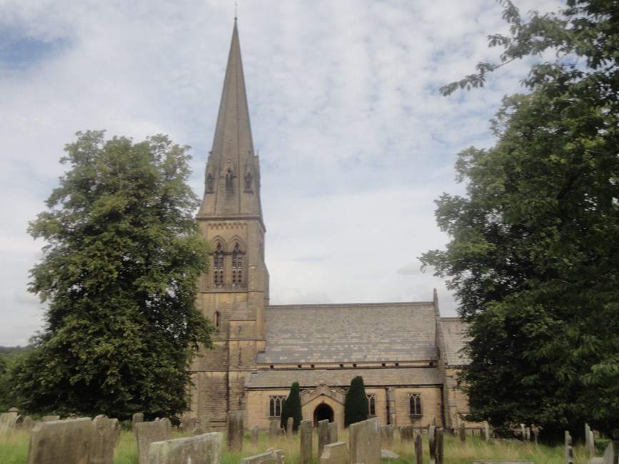 Church of St Peter, The Green, Edensor, Derbyshire Dales - Derbyshire Dales