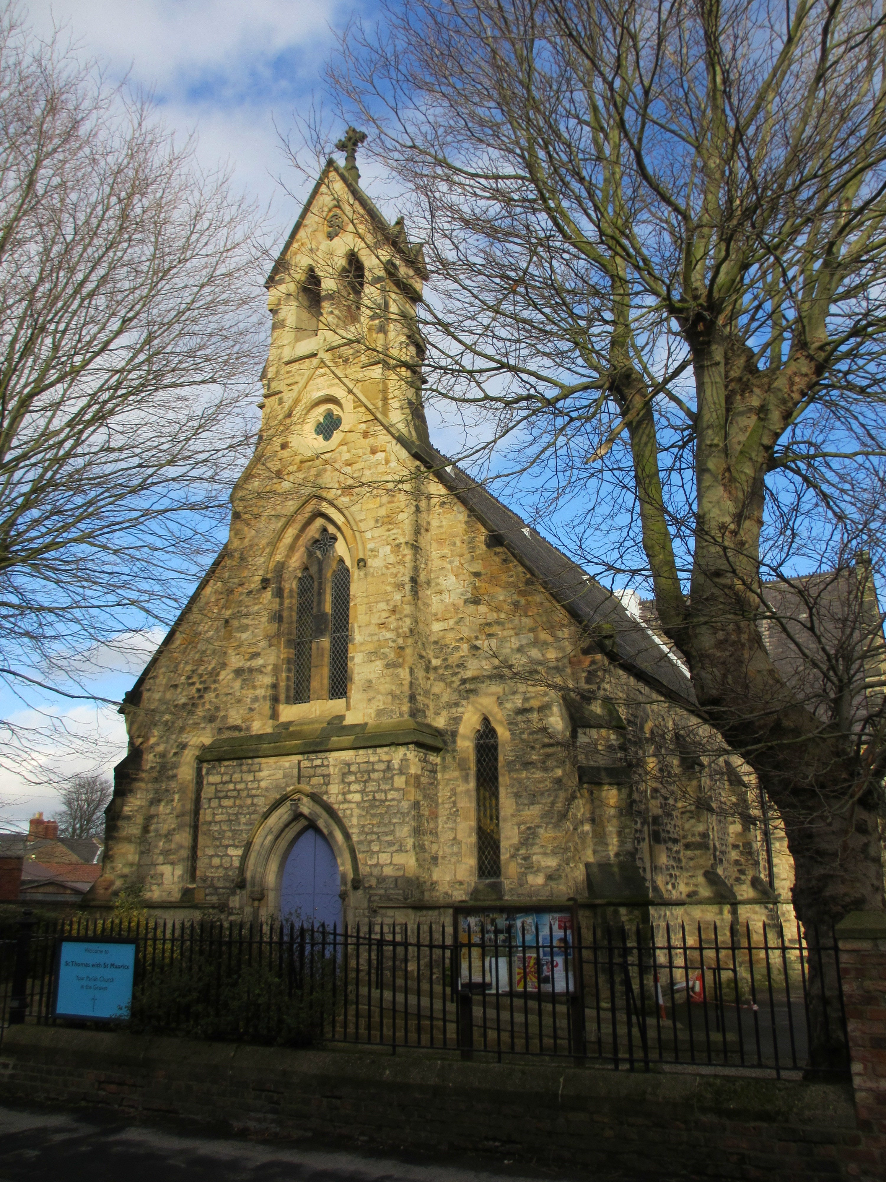 Church of St Thomas, Lowther Street, York
