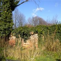 Wall to south east of St Mary's Churchyard, Church End E17 - Waltham Forest