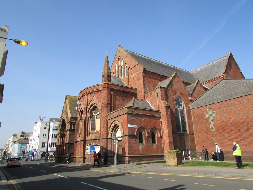 Church of St Mary the Virgin, St James's Street, Brighton - Brighton and Hove, City of (UA)