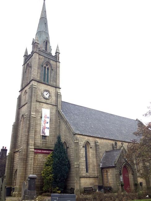 Church of St Paul, Crow Lane, Ramsbottom - Bury