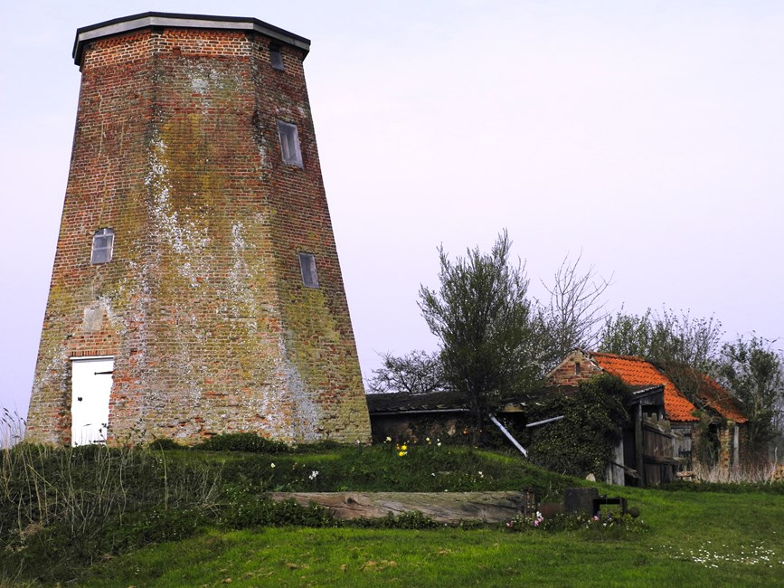Sneaths Mill, Lutton Gowts, Lutton - South Holland