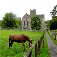 Church of St Mary, Abbey Dore, Abbey Dore - Herefordshire, County of (UA)