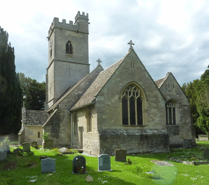 Church of St Andrew, Whitminster - Stroud
